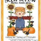 Scarecrow Theme Lesson Plan