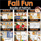 Scarecrow and Pumpkins Preschool Pack - Printables