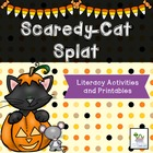 Scaredy-Cat Splat Halloween literacy and math activity pac