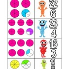 Scary Fractions - Sorting Improper Fractions - perfect for