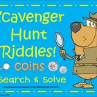Scavenger Hunt Riddles - Coins!