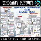 Scholarly Pursuits PowerPoint Lesson -  Attributes by S. Kaplan