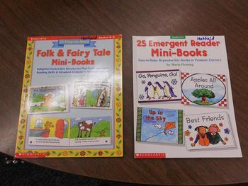Scholastic 15 Easy-to-Read Folk and Fairy Tale Mini-Books