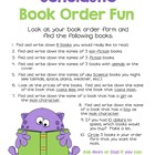 Scholastic Book Order Activity