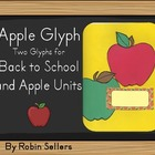 School Apple Glyph - Two Glyph Surveys for Back to School 