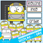 School Bus Classroom Theme Set - Welcome / Attendance Posters