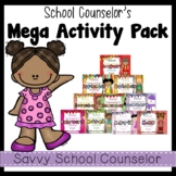 School Counselor's MEGA 10-Month Activity Pack- Savvy Scho