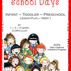 School Days Preschool Curriculum