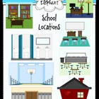 School Locations Clip Art