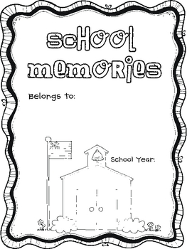 School Memories {An End of Year Keepsake}