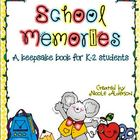 School Memories Keepsake Book {PK-2}