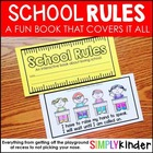 School Rules - A Book About How to be in School {Simply Kinder}