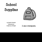 School Supplies-student book