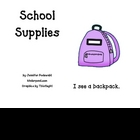 School Supplies-student book color