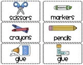 School Supply Labels for Everything!