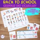 School Time Grammar and Vocabulary Activities