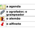 School Wordwall in Portuguese