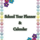 School Year Planner and Calendar (blank fill-in)