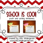 School is Cool Craft and Writing Templates