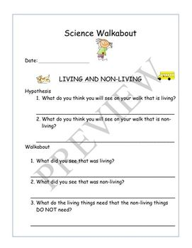 "Science Activities ""WALKABOUTS"" 1st-4th"