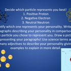 Science Atom particles vs. Personalities