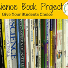 Science Book Project with Choices