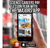 Science Careers Pay: STEM, CCSS Lesson on College Degrees