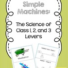 Science: Class 1, 2, and 3 Levers