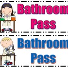 Science Class Bathroom Passes