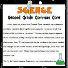 Science Common Core Planner for K-3