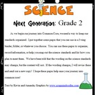Science Common Core for Second Grade