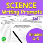 Science Constructed Responses: Pack 1  Grades 4-6