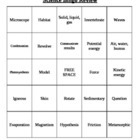 Science End of the Year Bingo Review (3rd-4th)