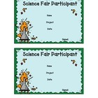 Science Fair Participant/Reminder