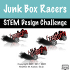 Science Fun With Junk Box Racers Foldable