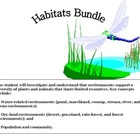 Science: Habitats or Ecosystems: Land and Water Environments