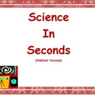 Science In Seconds (Georgia Habitats Edition)