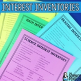 Interest Inventories (for all core subject areas)