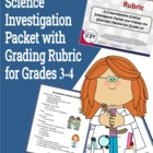 Science Investigation Packet for Grades 3-4