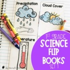 Science Journal Flip Books Part 1 {18 Different Topics}