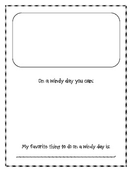 Science Journal for Kinders - Weather