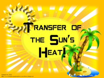 Science Lab- Transfer of the Sun's Heat