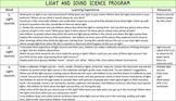 Science Light and Sound Program