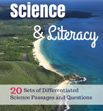 Differentiated Science & Literacy Comprehension Bundle
