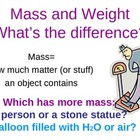 Science (Measurement): Mass, Weight, Volume (PowerPoint in