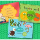 Science Mini Unit Pack Featuring Birds, Reptiles and Insects!