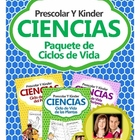 Science Pack - Life Cycles in Spanish - Ciclos de Vida