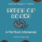 Science Readers&#039; Theater about Rock Cycle and Rock Types