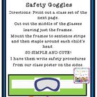 Science Safety Goggles Craftivity Freebie!