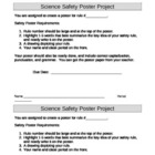 Science Safety Poster Requirements